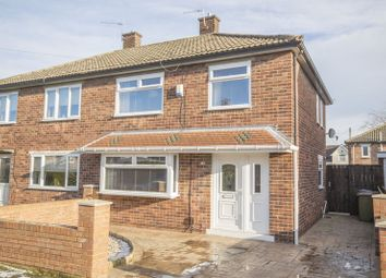 Thumbnail 3 bed semi-detached house for sale in Carlyle Road, Eston