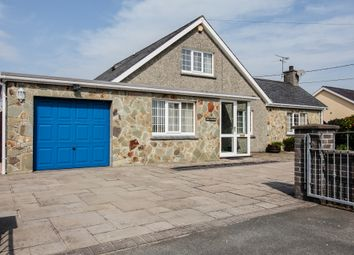 Thumbnail 4 bed detached bungalow for sale in Beach Road, Porthmadog
