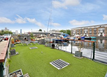 Thumbnail 1 bed houseboat for sale in Greenland Dock Rotherhithe, London