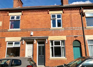 Thumbnail 3 bed terraced house for sale in Marshall Street, Leicester