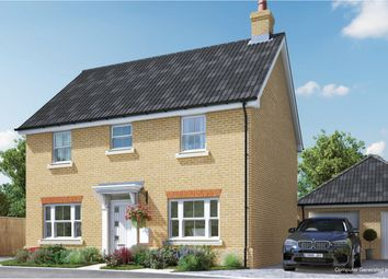 Thumbnail 4 bed detached house for sale in London Road, Attleborough, Norfolk