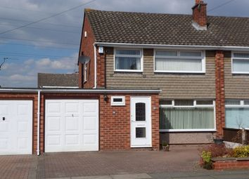 Thumbnail 3 bed semi-detached house to rent in Sutherland Drive, Bromborough, Wirral