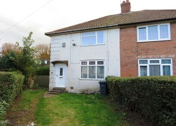 Thumbnail 3 bed semi-detached house to rent in Belvide Grove, Birmingham