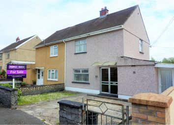 Thumbnail 2 bed semi-detached house for sale in Caeglas, Llanelli