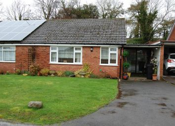 Thumbnail 2 bed semi-detached bungalow for sale in Barclay Close, Albrighton, Wolverhampton