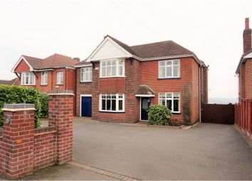 Thumbnail 5 bed detached house for sale in Burton Road, Midway, Swadlincote