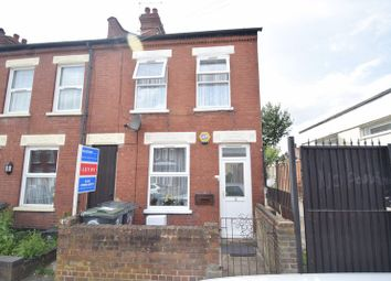 Thumbnail 2 bedroom end terrace house for sale in Newcombe Road, Luton