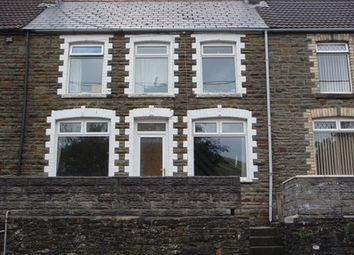 Thumbnail 2 bedroom terraced house to rent in Bridgend Road, Pontycymer, Bridgend