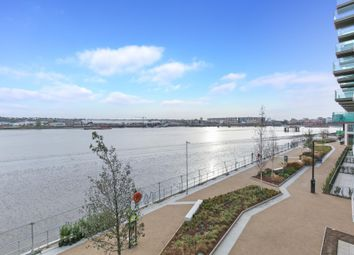 Thumbnail 3 bed flat to rent in Liner House, Royal Wharf, London