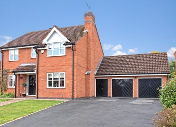 Thumbnail 4 bed detached house for sale in The Spinney, Mancetter, Nr Atherstone, Warwickshire