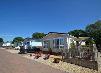Thumbnail 3 bed mobile/park home for sale in Halsinger, Braunton, Devon