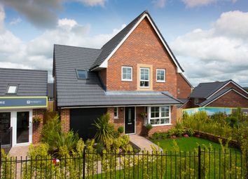 """Thumbnail 4 bed detached house for sale in """"Harborough"""" at Moss Lane, Macclesfield"""