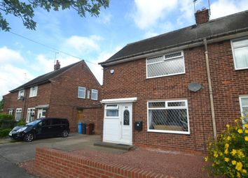 Thumbnail 2 bed semi-detached house for sale in Hayburn Avenue, Hull