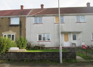 Thumbnail 3 bedroom terraced house for sale in Afon Llan Gardens, Portmead, Swansea, City And County Of Swansea.