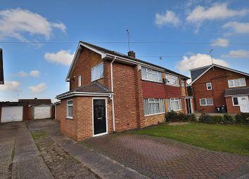 Thumbnail 4 bedroom semi-detached house to rent in Carterweys, Dunstable