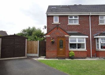 Thumbnail 2 bed semi-detached house for sale in Stradbroke Close, Lowton, Nr Warrington