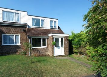 Thumbnail 3 bedroom end terrace house for sale in Swinburne Close, Royston, Hertfordshire