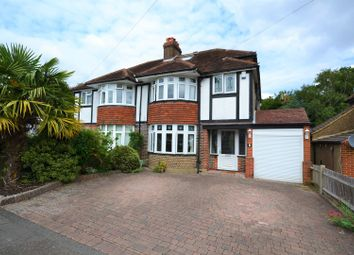 Thumbnail 3 bed semi-detached house for sale in Follyfield Road, Banstead