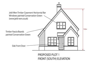 Thumbnail 3 bedroom detached house for sale in High Street, Wicken, Ely
