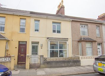 Thumbnail 3 bedroom terraced house for sale in Julian Street, Cattedown, Plymouth