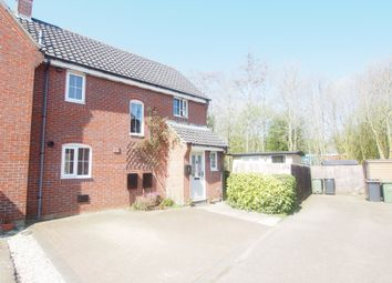 Thumbnail 3 bed semi-detached house for sale in Spindle Close, Wymondham