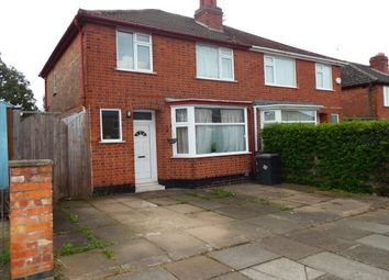 Thumbnail 3 bed semi-detached house to rent in Landseer Road, Leicester