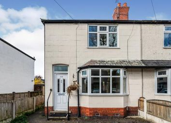 Thumbnail 2 bed terraced house for sale in Shaws Avenue, Warrington, Cheshire
