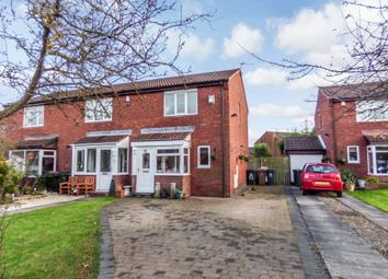 Thumbnail 2 bedroom terraced house for sale in Sharnford Close, Backworth, Newcastle Upon Tyne