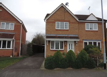 Thumbnail 3 bedroom semi-detached house to rent in Kesteven Way, Bourne, Lincolnshire