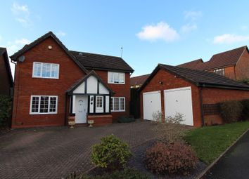 Thumbnail 4 bedroom detached house to rent in Lea Park Rise, Bromsgrove