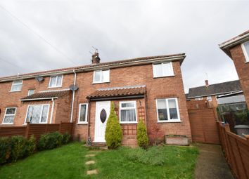 Thumbnail 3 bedroom terraced house for sale in Fenn Crescent, Norwich