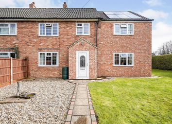 Thumbnail 4 bed semi-detached house for sale in Rectory Road, Edgefield, Melton Constable