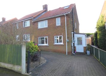 3 bed semi-detached house for sale in Burns Road, Dinnington, Sheffield S25