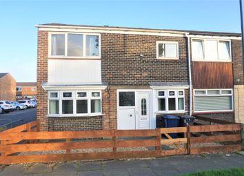 Thumbnail 3 bed end terrace house for sale in Keats Walk, South Shields