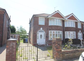 Thumbnail 3 bed semi-detached house to rent in Norwich Road, Stretford, Manchester