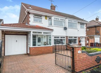 Thumbnail 3 bedroom semi-detached house for sale in Hawthorne Avenue, Halewood, Liverpool