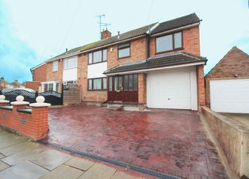 Thumbnail 4 bed semi-detached house for sale in Roehampton Drive, Wigston