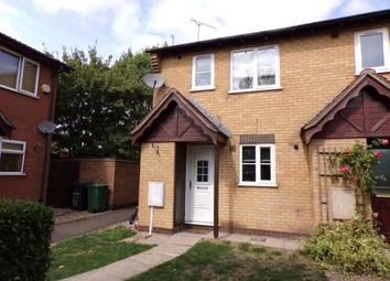 Thumbnail 2 bed end terrace house for sale in Covert Close, Syston, Leicester, Leicestershire