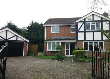 Thumbnail 4 bed property to rent in Swift Close, Syston