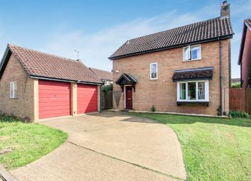 Thumbnail 4 bed detached house for sale in Wyndham Park, Orton Wistow, Peterborough