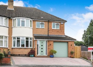 Thumbnail 3 bed semi-detached house for sale in High Brink Road, Coleshill, Birmingham, .