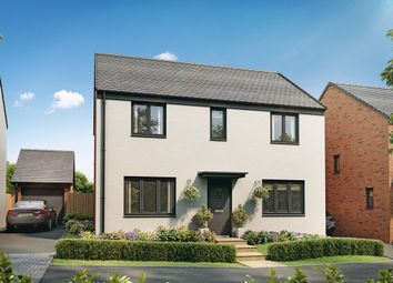 "Thumbnail 4 bed detached house for sale in ""The Chedworth"" at Church Road, Old St. Mellons, Cardiff"