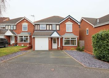 Thumbnail 4 bed detached house for sale in Hayle Close, Stafford