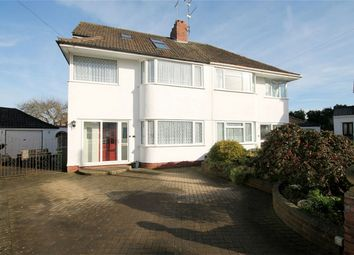 Thumbnail 4 bed semi-detached house for sale in Cleeve Gardens, Downend, Bristol