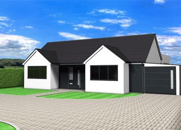 Thumbnail 4 bed detached bungalow for sale in Mill Lane, Oasby, Grantham