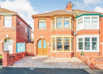 Thumbnail 3 bed semi-detached house to rent in Millom Avenue, Blackpool