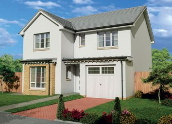 "Thumbnail 4 bed detached house for sale in ""The Etive"" at Fairlie, Largs"
