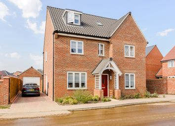 Thumbnail 5 bed detached house for sale in Elm Close, Woodbridge