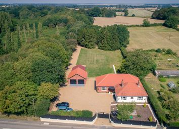 Thumbnail 4 bed bungalow for sale in Rectory Road, Aldeby, Beccles