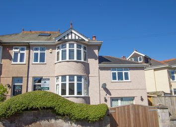 Thumbnail 5 bed semi-detached house for sale in Hill Lane, Hartley, Plymouth